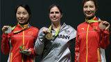 女子50米气步枪三姿中国获一银一铜 杜丽表示将离开射击